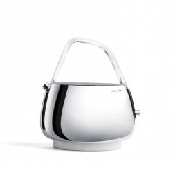 Casa Bugatti JACQUELINE Czajnik Elektryczny 1,2 l z Wyświetlaczem - Uchwyt Bezbarwny