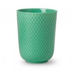 Lyngby Porcelain RHOMBE COLOR Kubek bez Ucha 330 ml Zielony