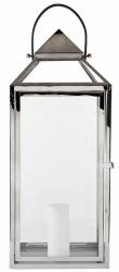 Villa Collection NORDIC Lampion 62 cm Srebrny