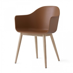 Menu HARBOUR Krzesło - Rama Drewniana/Siedzisko Khaki