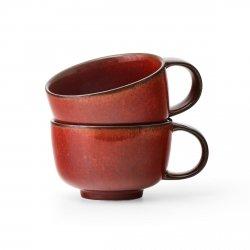 Menu NEW NORM Filiżanka do Herbaty / Kawy 250 ml 2 Szt. Czerwona