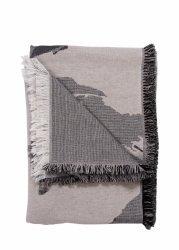 Aytm FLOREO Koc - Narzuta 170x130 cm Motyw Kwiatowy