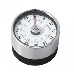 Cilio PURE Timer Kuchenny 6 cm - Czarny