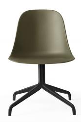 Menu HARBOUR SIDE Krzesło Obrotowe - Rama Czarna - Siedzisko Oliwkowe