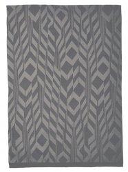 SÖDAHL - DECO FEATHERS Ręcznik Kuchenny 50x70 cm Szary