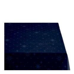 Sodahl CHRISTMAS STELLA Obrus Świąteczny na Stół 140x320 cm Granatowy