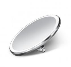 Simplehuman SENSOR Podręczne Lusterko Sensorowe 10 cm Stal Matowa