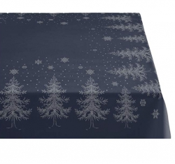 Sodahl CHRISTMAS WINTERLAND Obrus Świąteczny na Stół 150x370 cm Granatowy