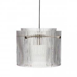 Hübsch SCANDI Lampa Wisząca Szklana 41 cm Bezbarwna