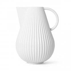Lyngby Porcelain TURA Wazon Dzabn 27,5 cm Biały