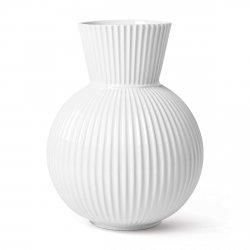 Lyngby Porcelain TURA Wazon 34 cm Biały