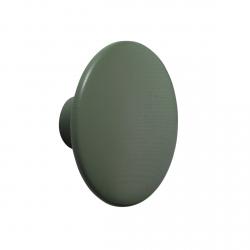 Muuto DOTS Wieszak Drewniany S - 9 cm Zielony Dusty Green