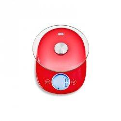 Ade CARLA Elektroniczna Waga Kuchenna - Czerwona