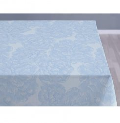Sodahl MODERN ROSE Obrus na Stół 140x180 cm Jasnoniebieski - Linen Blue