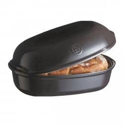 Emile Henry ARTISAN Ceramiczna Forma do Pieczenia Chleba 3,35 l Czarna
