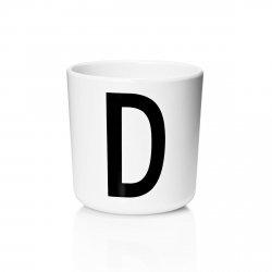 Design Letters AJ Kids - Kubek z Melaminy - Litera D