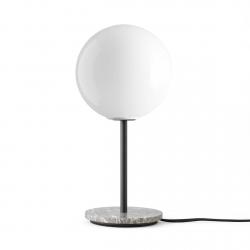 Menu TR Lampa Stołowa z Marmurową Podstawą - Klosz Błyszczący