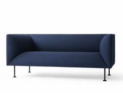 Menu GODOT Sofa 2-Osobowa Granatowa - Royal Blue