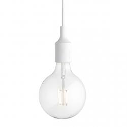 Muuto E27 Lampa Żarówka LED - Biała