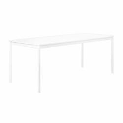 Muuto BASE Stół 190x85 cm Biały - Blat Laminat