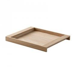Skagerak NO. 10 Taca do Serwowania z Drewna Dębowego - Mała