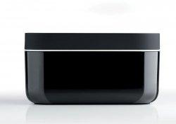 Lekue ICE BOX Forma do Kostek Lodu i Pojemnik na Lód 2w1 Czarny