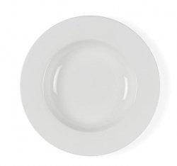Bitz WHITE Talerz Głęboki do Zupy 23 cm Biały