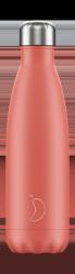 Chilly's PASTEL Stalowa Butelka Termiczna 500 ml Koralowa
