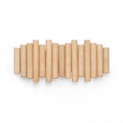 Umbra PICKET Ścienny Wieszak na Ubrania - Drewniany Naturalny