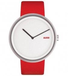 Alessi OUT_TIME Zegarek - Czerwony Pasek