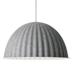 Muuto UNDER THE BELL Lampa Wisząca 82 cm Szara