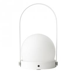 Menu CARRIE Lampion LED - Lampka Przenośna Biała