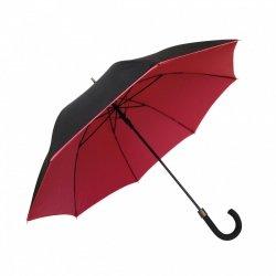 Smati DUO Długi Parasol z Podwójnej Tkaniny - Czerwony