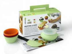 Lekue CELEBRATE - Zestaw do Muffinów dla Dzieci MUFFINS KIDS