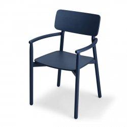 Skagerak HVEN Krzesło Dębowe - Granatowe