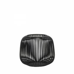 Blomus LITO Lampion - Świecznik 17 cm Czarny