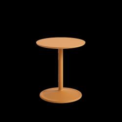 Muuto SOFT SIDE Stolik Okrągły 48 cm Pomarańczowy / Blat 41 cm Laminat