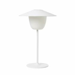 Blomus ANI Bezprzewodowa Lampa LED 2w1 Stołowa/Wisząca - Biała