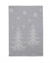 Sodahl CHRISTMAS Świąteczny Ręcznik Kuchenny Winterland 2 Szt. Szary