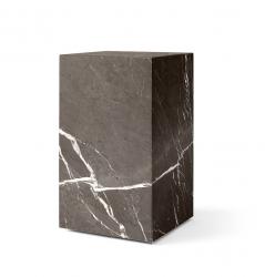 Menu PLINTH Postument Marmurowy Wysoki - Brązowy Marmur