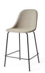 Menu HARBOUR SIDE Krzesło Barowe 102 cm Hoker Jasnoszary - Siedzisko Tapicerowane Odcień Piaskowy