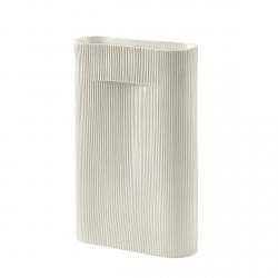 Muuto RIDGE Wazon do Kwiatów 48 cm Biały (Off-White)