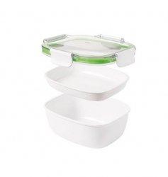 Oxo ON-THE-GO Lunchbox - Dwupoziomowy Pojemnik na Śniadanie