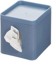 iDesign BOX Pojemnik na Chusteczki - Niebieski Matowy
