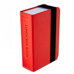black+blum LUNCH BOX Pojemnik na Drugie Śniadanie - Książka - Czerwony