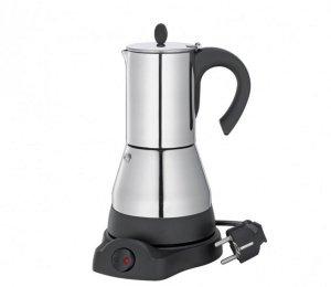 Cilio LISBOA Kawiarka Elektryczna 300 ml - Stalowa