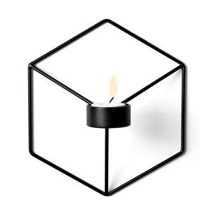 Menu POV Świecznik Ścienny - Czarny