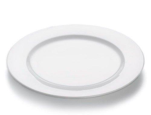 White Basics - Talerz Płaski 30 cm