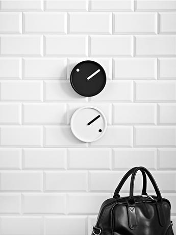 Rosendahl PICTO Zegar Ścienny - Czarno/Biały