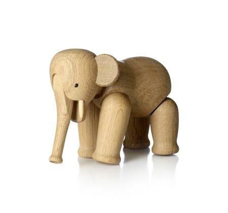 Kay Bojesen ELEPHANT Dekoracja - Figurka Drewniana Słoń